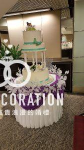 蛋糕枱 - 深紫色